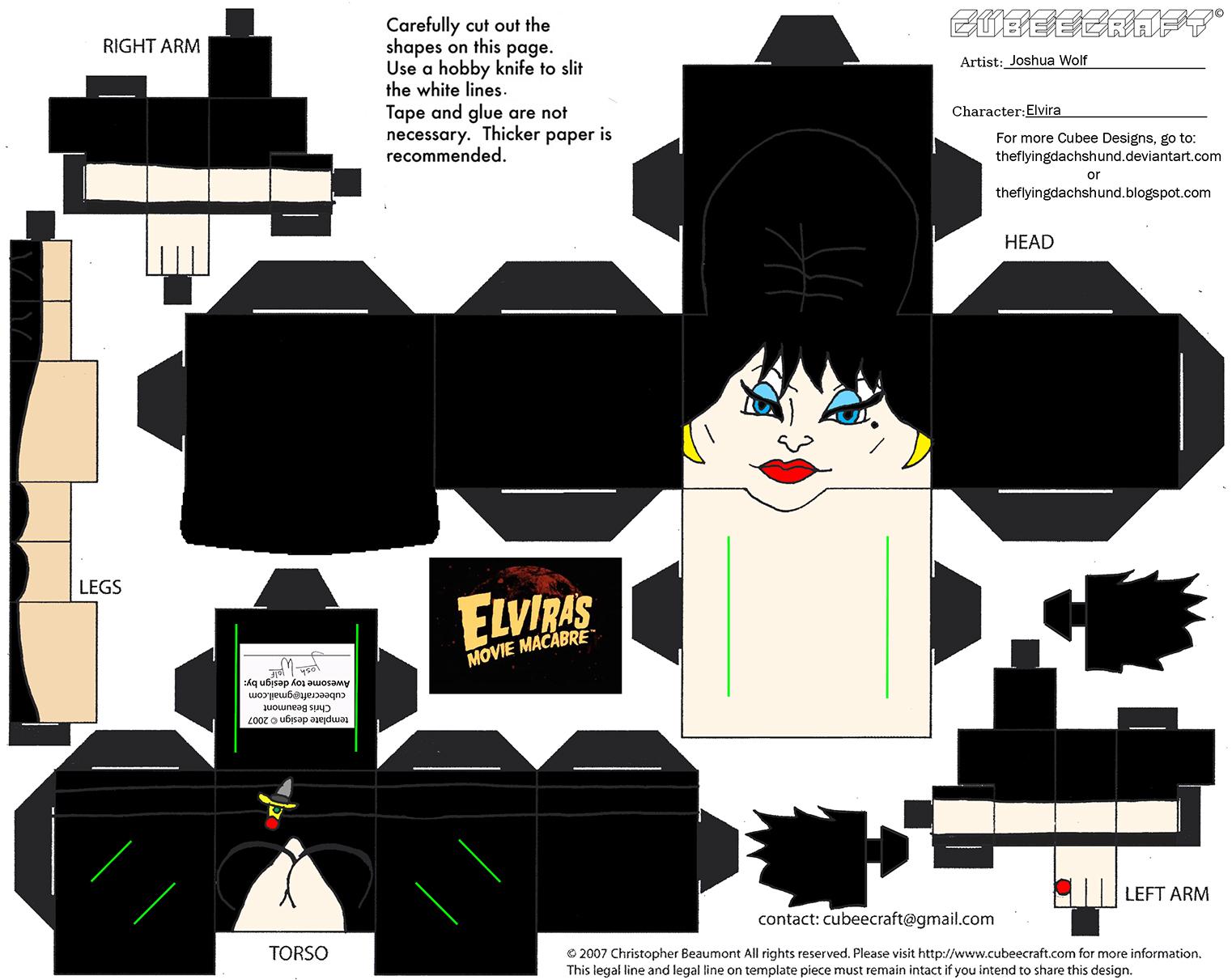 Horror17: Elvira Cubee
