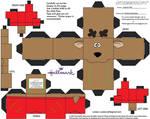 XMas13: Rodney Reindeer Cubee