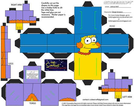 X-Mas16.5: Marge Simpson Cubee