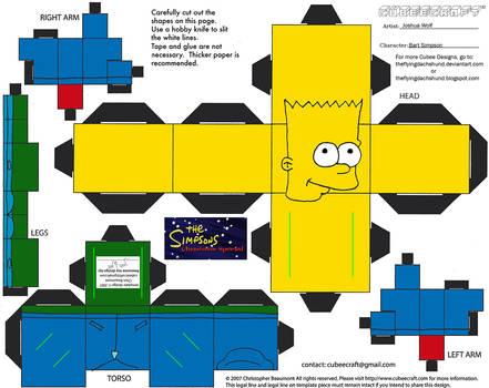 X-Mas16.5: Bart Simpson Cubee