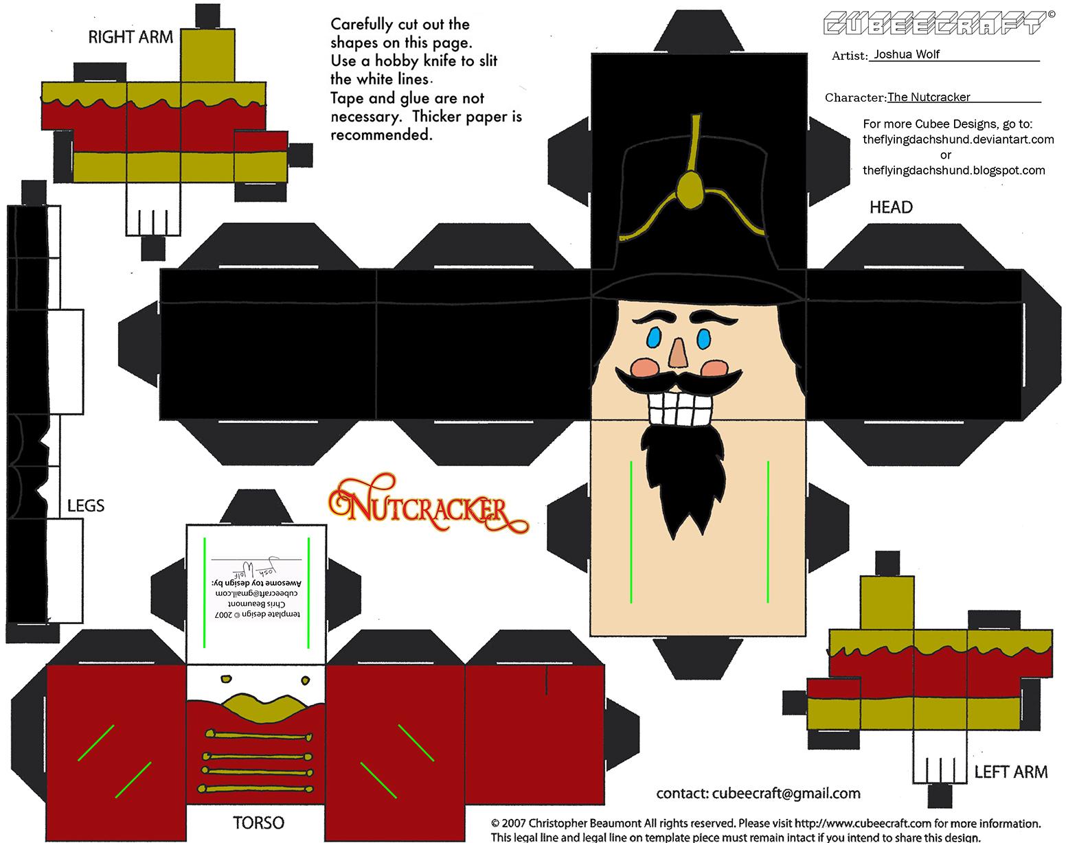 Mas21: The Nutcracker Cubee by TheFlyingDachshund on DeviantArt