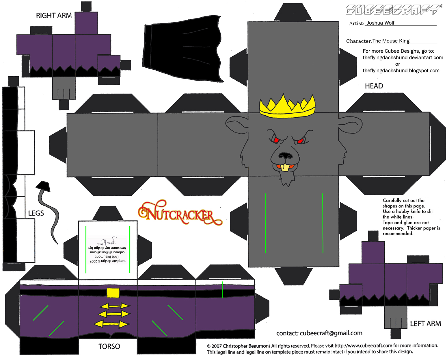 X-Mas21: The Mouse King Cubee