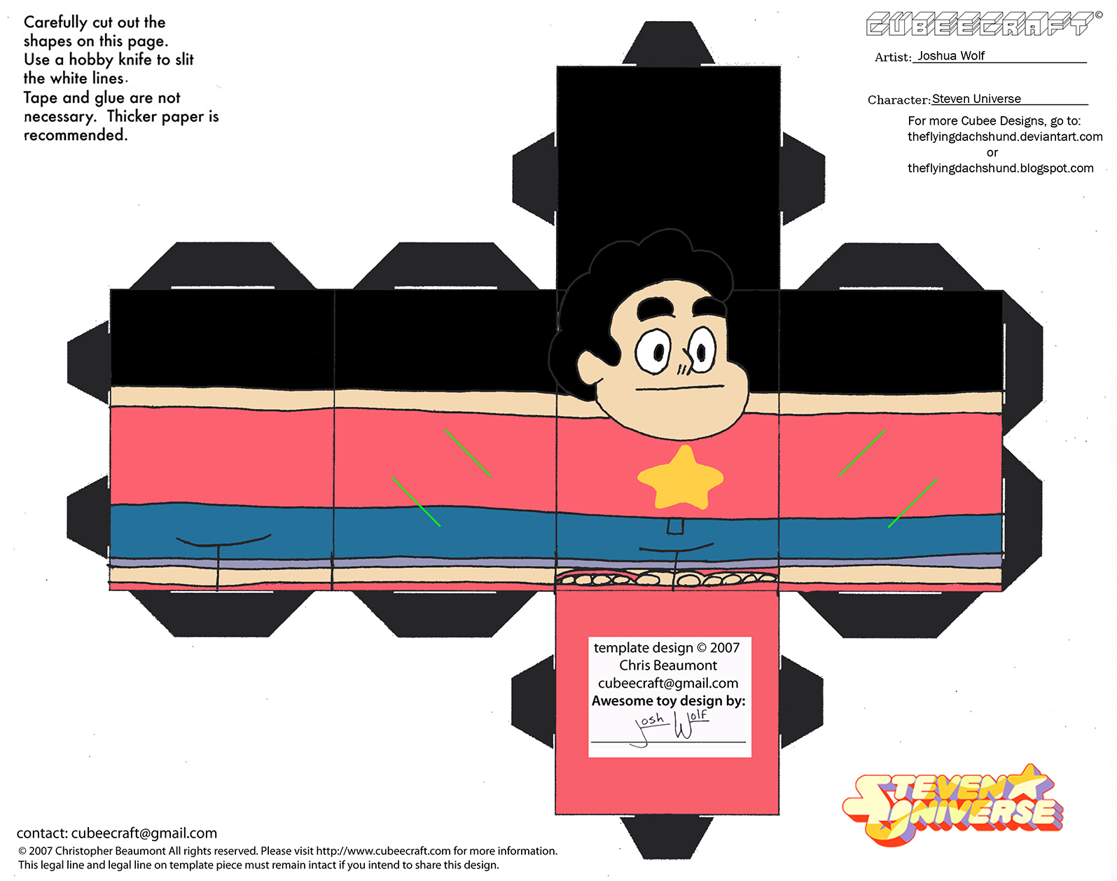 CE7: Steven Universe Cubee by TheFlyingDachshund on DeviantArt