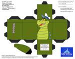 Dis39: Crocosaur Cubee