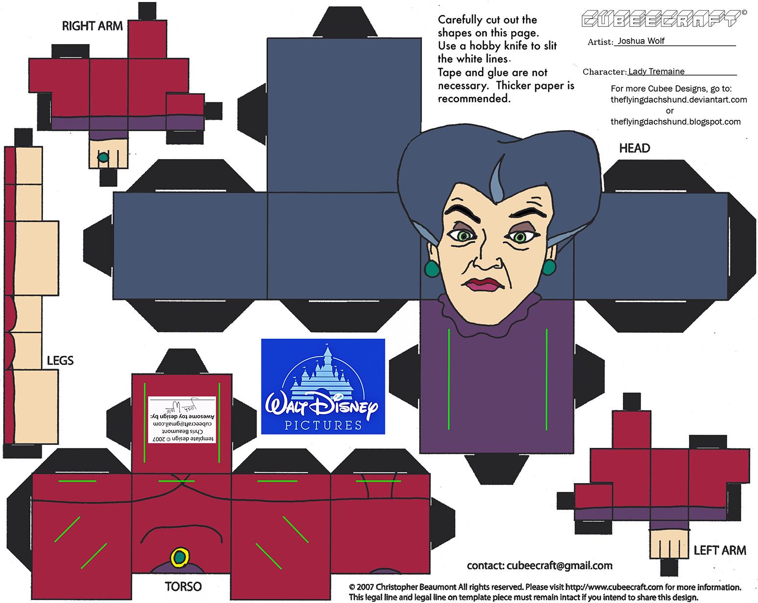 Dis44: Lady Tremaine Cubee