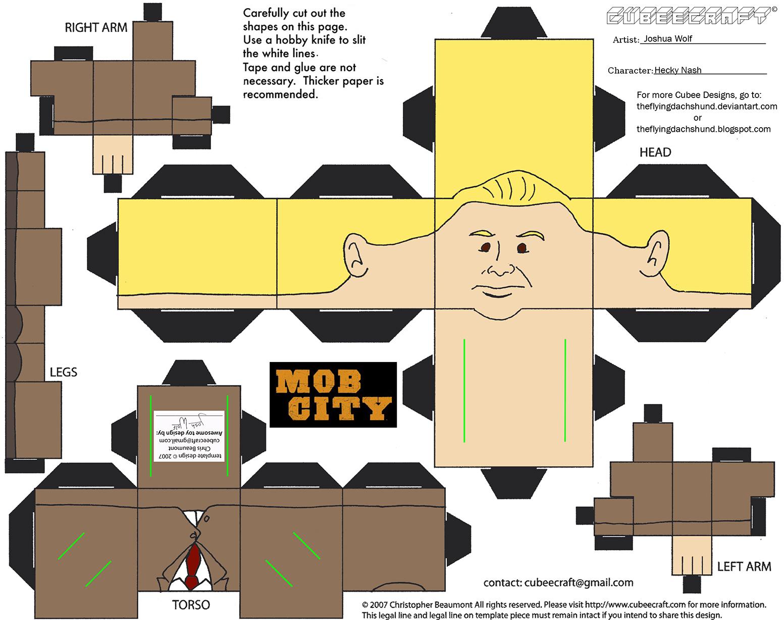 MobCity2: Hecky Nash Cubee