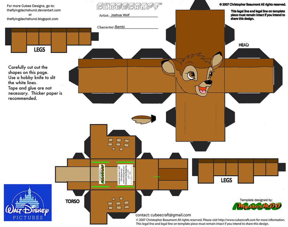 Dis48 Bambi Cubee By Theflyingdachshund On Deviantart