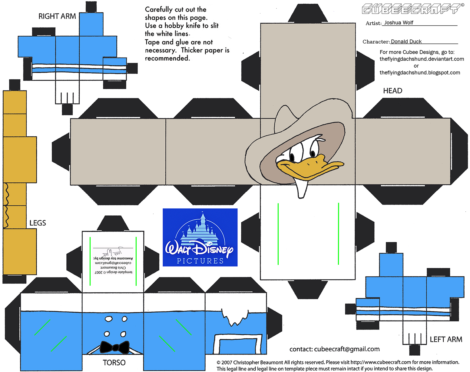 Dis49: Donald Duck Cubee