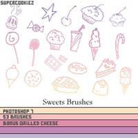Sweet Shop Sweet Brushes by SuperCookiez