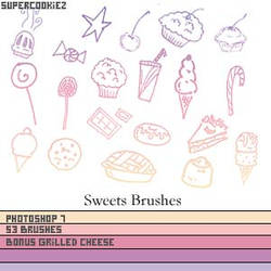 Sweet Shop Sweet Brushes by SuperCookiez