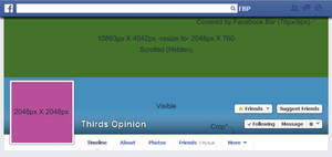 Facebook Coverphoto and Profile Template 2014 HD by NickDClements