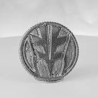 Tigerzord (White) Metal Power Ranger Coin