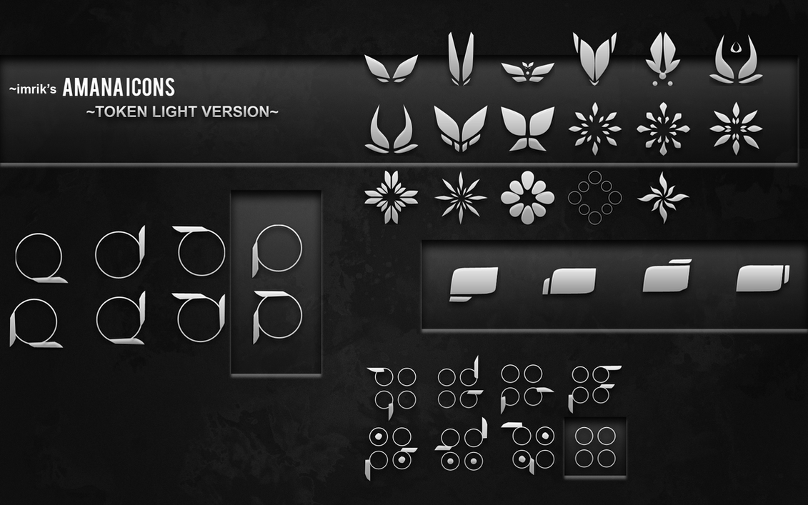 imrik's AMANA icons -Token Light Version- by samiewami04