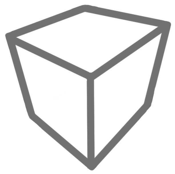 Perspective Simplified - draw a cube. by Reflective-Sentinal