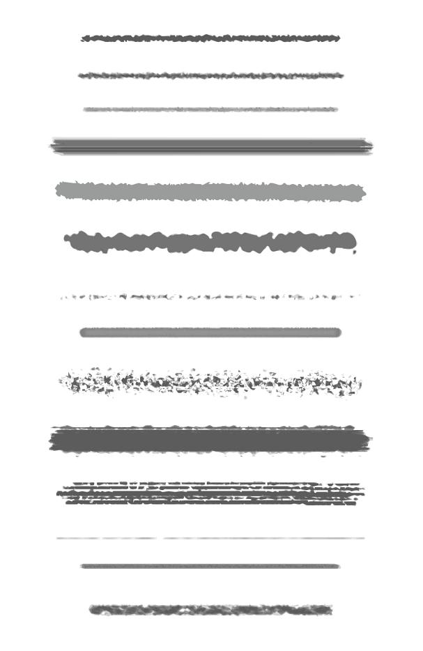 AI Custom Drawing Brushes 1