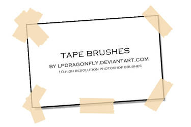 tape brushes by ivadesign