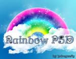 rainbow psd