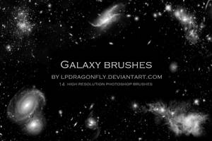 galaxy brushes by ivadesign