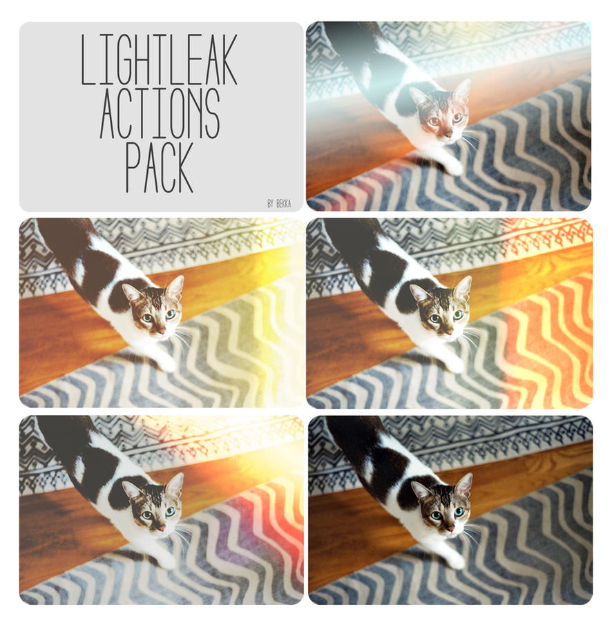 Light Leak Actions by beorange
