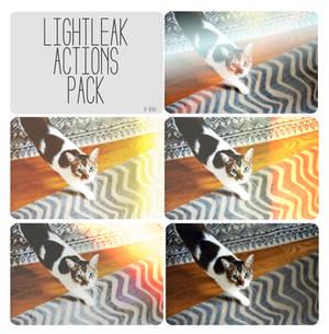 Light Leak Actions