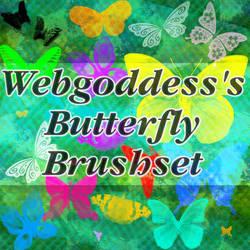 Butterfly Brushset by webgoddess