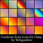 Gradients from Icons for Gimp