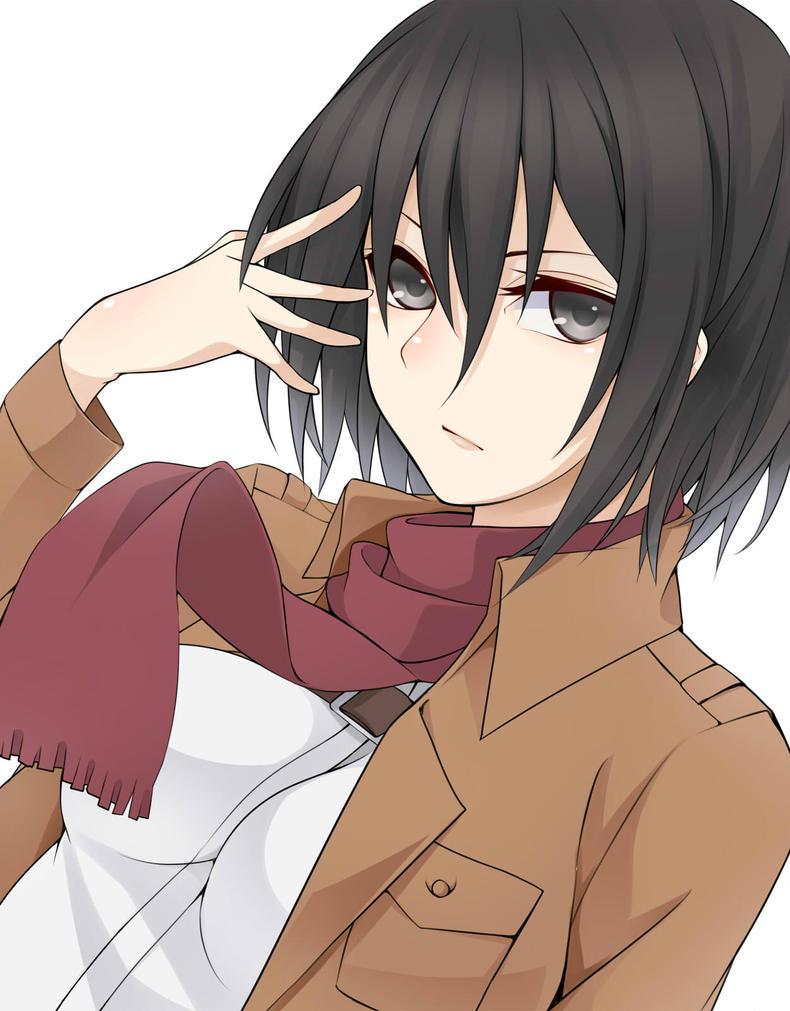 Mikasa x Male!Reader [AU]-Halloween dance by kuni-chan978 on