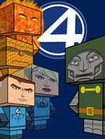 Fantastic Four Pack by MysterMDD