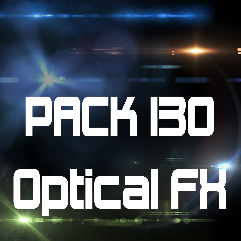 -PACK 130- Optical FX (Flares, Flashes, Etc..)