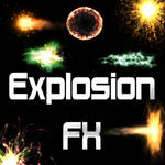 -PACK 40- Explotion FX (All PNG)