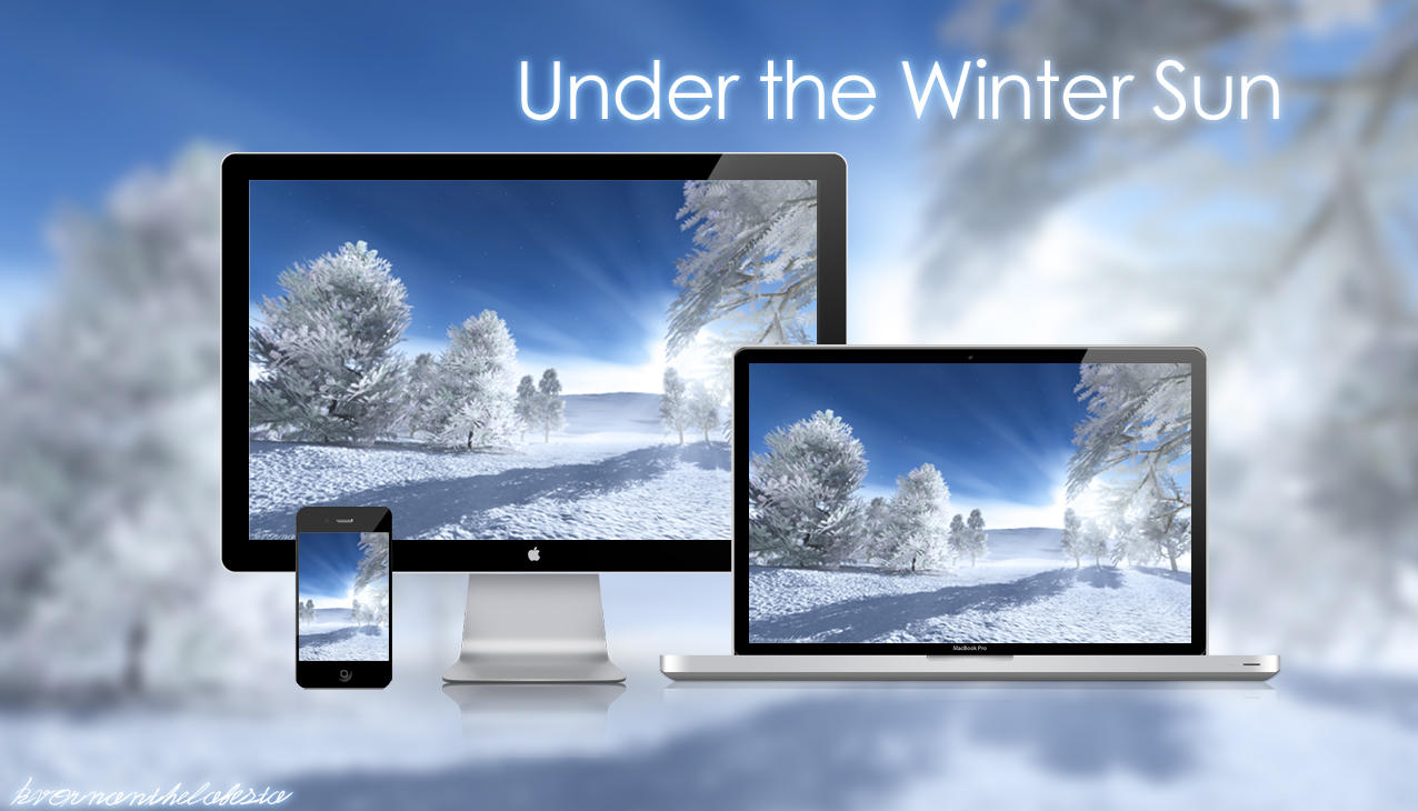 Under the Winter Sun Wallpaper Pack by KvornanTheLafesta