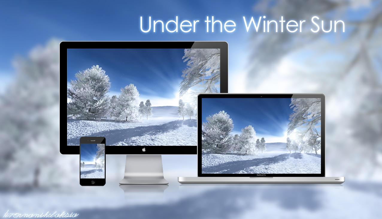 Under the Winter Sun Wallpaper Pack by KvornanTheLafesta