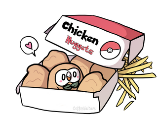 My Little Nugget by CoffeeVulture