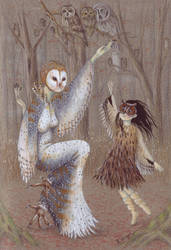 Owl feast