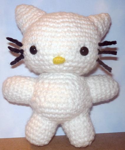Amigurumi Hello Kitty Wedding : Hello Kitty Amigurumi by BrigetteMora on DeviantArt