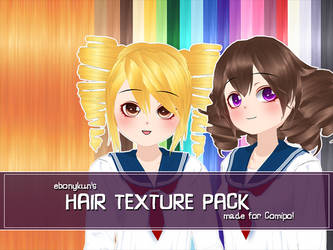 Hair Texture Pack by ebonykun