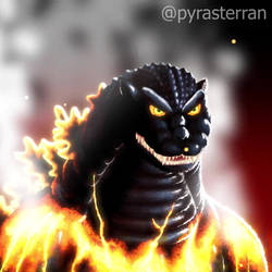 Godzilla 1K Instagram Animated Art 2