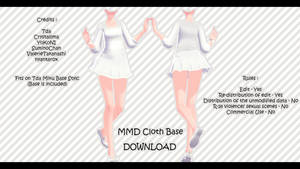 MMD Cloth Base + Download by XxXSickHeartKunXxX