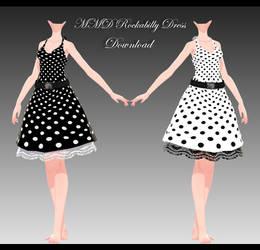 MMD Rockabilly Dress