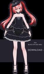 Tda Black Eye Kid Miku + Download