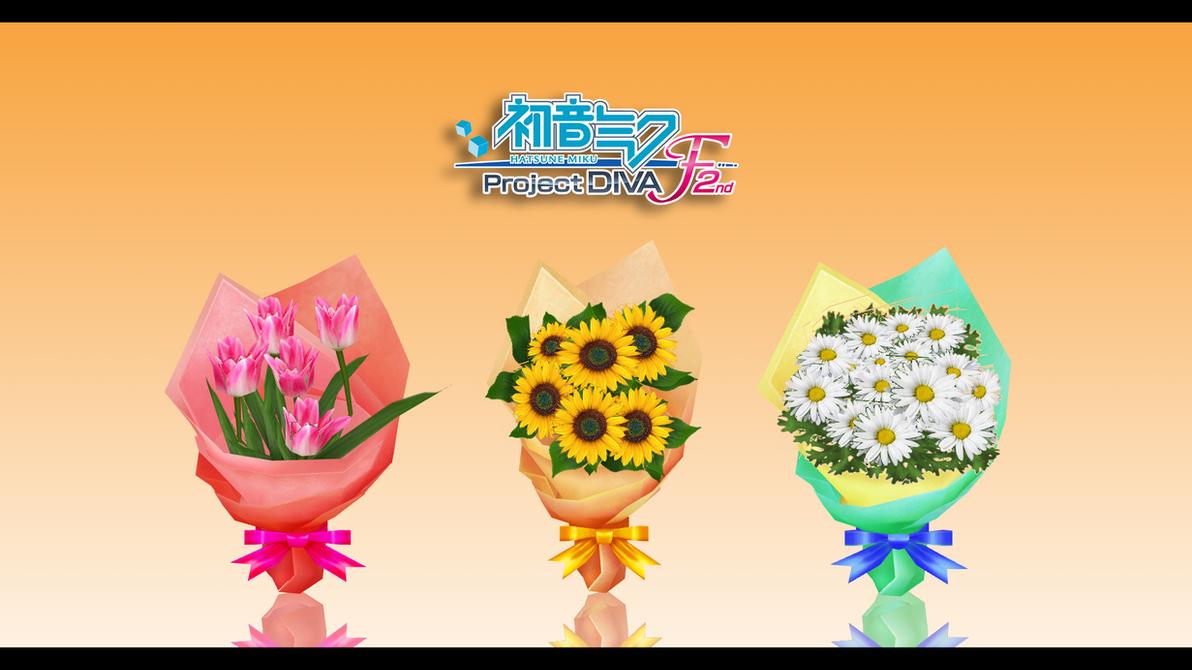 PDF2nd Flower Bouquet Pack by XxXSickHeartKunXxX