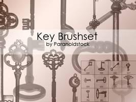 Key brushset by paranoidstock
