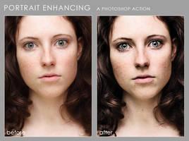Portrait enhancing by paranoidstock