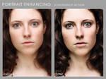 Portrait enhancing