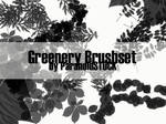 Greenery Brushset