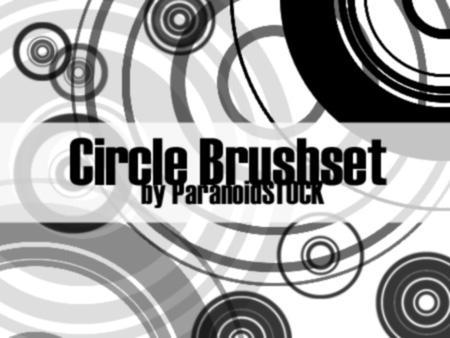 Circle Brushset by paranoidstock
