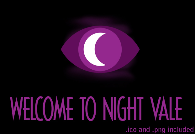 Welcome to Night Vale Custom Icon by FangsAndNeedles
