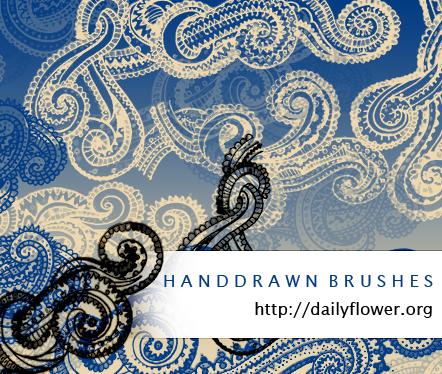 Handrawn swirls s by creativesplash