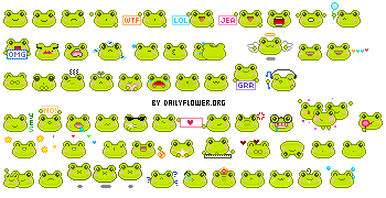 60 frogs by creativesplash
