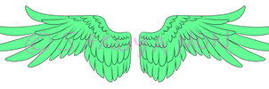 Wings lineart 2
